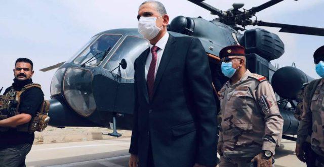 وزير الداخلية يجري جولة ميدانية تفقدية لمحافظة ديالى
