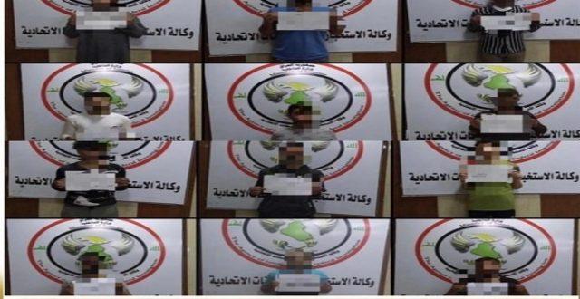 الاستخبارات: القبض على ١٢ إرهابياً في مناطق متفرقة من نينوى