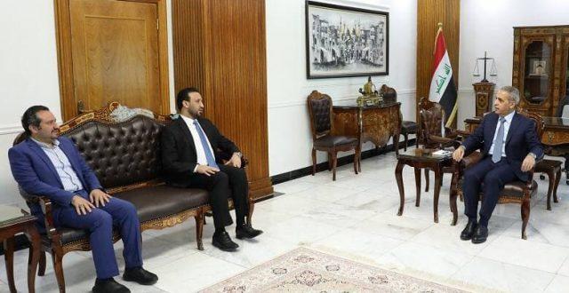 زيدان يستقبل رئيس مجلس الامناء في شبكة الاعلام العراقي