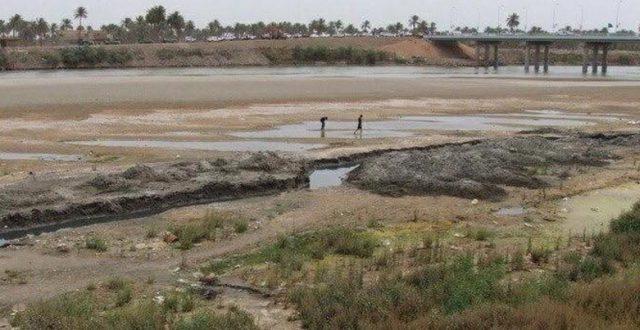 توضيح من وزارة الموارد المائية بشأن أسباب جفاف نهر دجلة