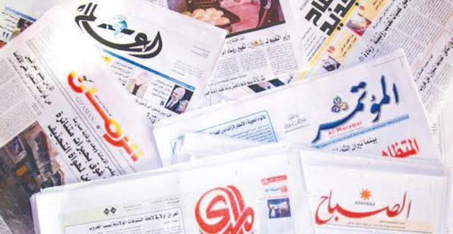 """صحف اليوم تهتم بأسباب ازدياد حوادث """"الحرائق"""" وشحة المياه وتراجع المساحات الخضراء"""
