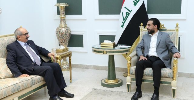 رئيس مجلس النواب يستقبل السفير الإماراتي الجديد