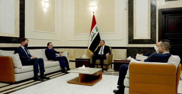 الكاظمي يستقبل السفير الروسي الجديد في العراق