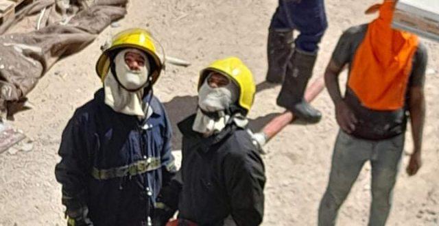 """نشوب حريق داخل مؤسسة """"العين الخيرية"""" في النجف"""