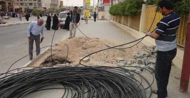 الاتصالات تعلن عن اقتراب تشغيل الشبكة الضوئية في بغداد