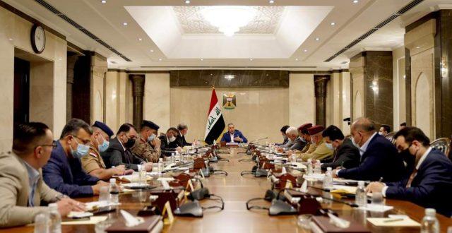 المجلس الوزاري للامن الوطني يشدد على رفضه الكامل جعل العراق ساحة لتصفية الحسابات