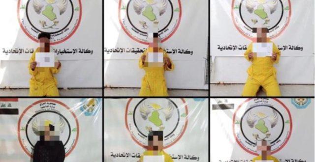 بينهم امرأة.. القبض على 9 إرهابيين في كركوك