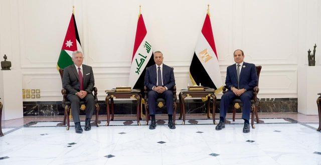 انطلاق اعمال القمة الثلاثية العراقية المصرية الاردنية في بغداد