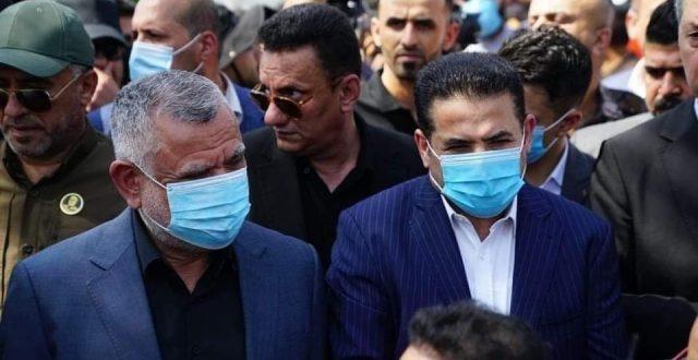 """من الجادرية ببغداد الان.. حضور رسمي وشعبي في التشييع الرمزي لشهداء الحـــــشد """"صور"""""""
