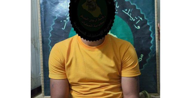 """الاستخبارات تقبض على 4 إرهابيين واحد المعتدين على موظفي الدولة في الانبار """"صور"""""""