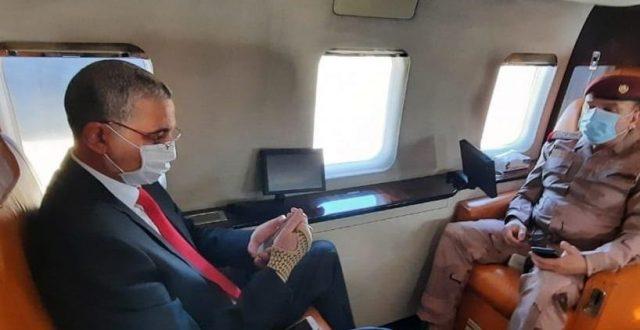 وزير الداخلية والشمري يصلان الى البصرة