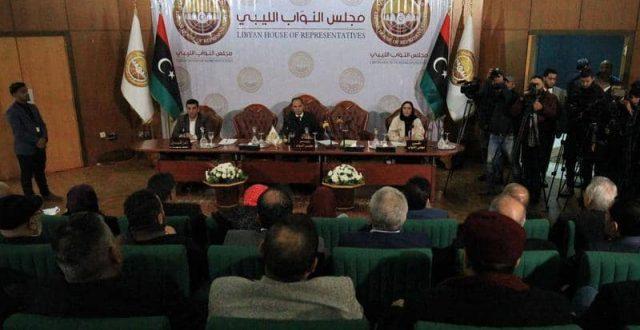 مجلس النواب الليبي يعلق جلسته لهذا السبب