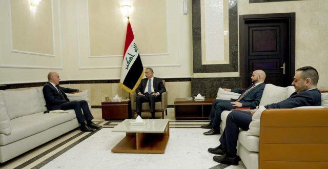 الكاظمي يستقبل السفير التركي الجديد لدى العراق