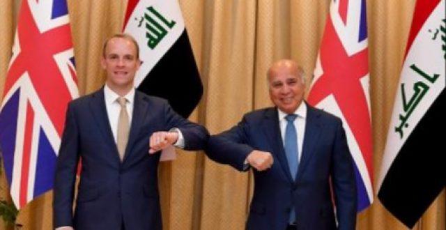 موسع… المؤتمر الصحفي..العراق والمملكة المتحدة يوقعان وثيقة للتفاهم السياسي والاستراتيجي