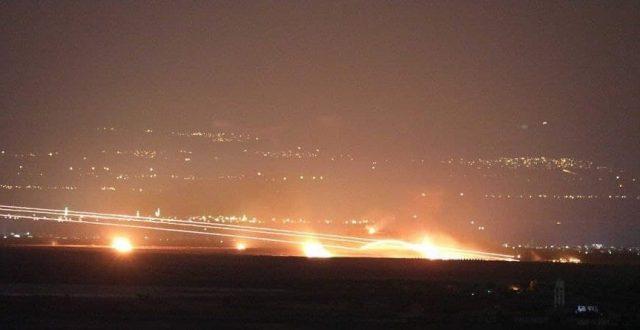 سانا: استهداف القاعدة العسكرية الاميركية في دير الزور بقذائف صاروخية