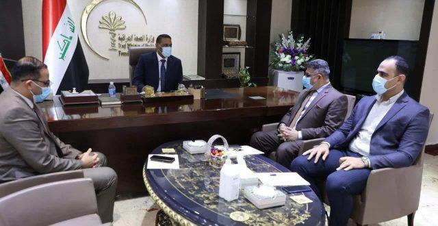 الوكيل الفني لوزارة الصحة يستقبل وفد الأمانة العامة لمجلس الوزراء