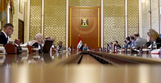 مجلس الوزراء يعقد جلسته الاعتيادية برئاسة رئيس مجلس الوزراء مصطفى الكاظمي