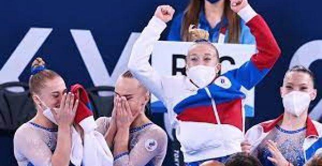 اولمبياد طوكيو..روسيا تحرز ذهبية الجمباز لفرق السيدات