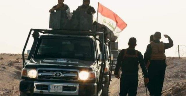 القوات الامنية تنفذ عملية استباقية في بادية النجف