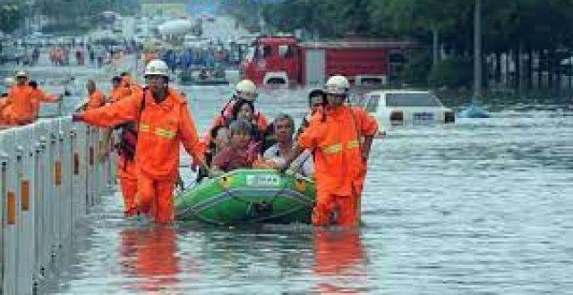 اجلاء أكثر من 20 ألف شخص بسبب فيضان جنوبي الصين