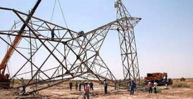 """الكهرباء تعيد خط """"القيارة كركوك"""" إلى الخدمة"""