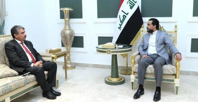 الحلبوسي يبحث مع السفير الكويتي سبل تعزيز التعاون بين البلدين