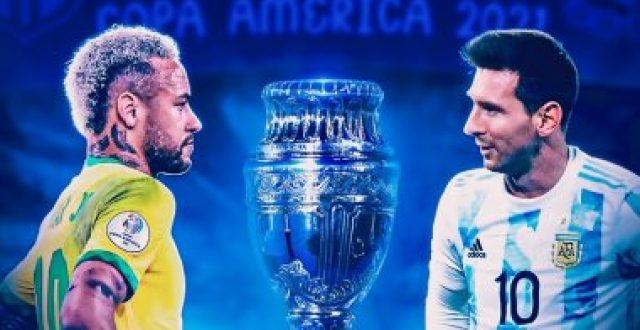 التشكيلة المتوقعة للقاء البرازيل والأرجنتين بنهائي كوبا أمريكا