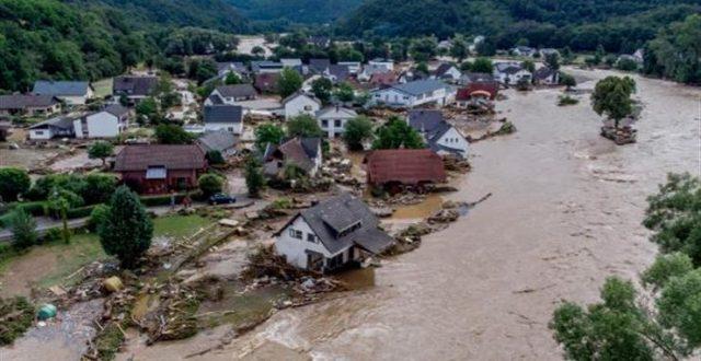 مصرع اكثر من 100 شخص وعشرات المفقودين جراء الفيضانات في أوروبا