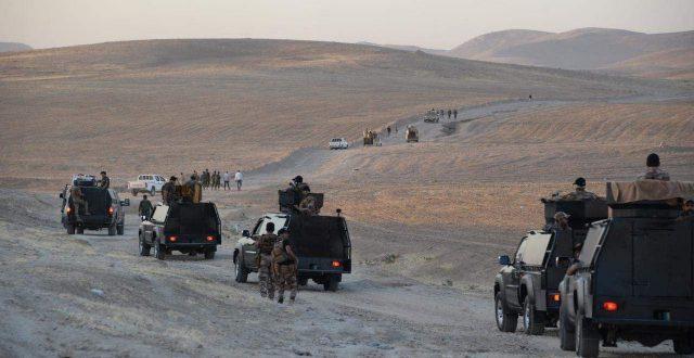 بالصور.. الحشد الشعبي يؤمن مناطق جنوب الموصل