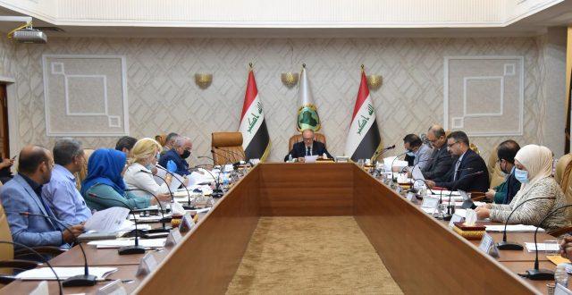 وزير المالية يترأس الجلسة الرابعة عشر للجنة إعداد إستراتيجية الموازنة للاعوام ٢٠٢٢-٢٠٢٤