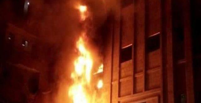 صحة ذي قار: الحريق سببه استخدام خاطئ لأسطوانات الأوكسجين