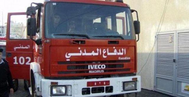 الدفاع المدني تخمد حريق في فندق بمدينة كربلاء المقدسة