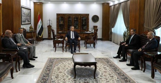 زيدان يلتقي مستشاري رئيس الجمهورية