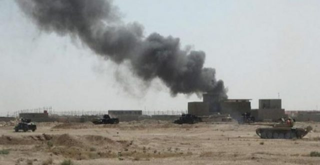 التحالف الدولي يكشف عن استهداف قاعدة عين الاسد بثلاثة صواريخ