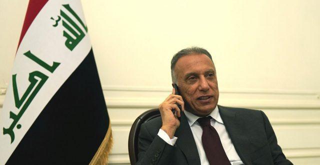 مصطفى الكاظمي يبحث مع ولي عهد أبوظبي سبل تنمية العلاقات بين البلدين