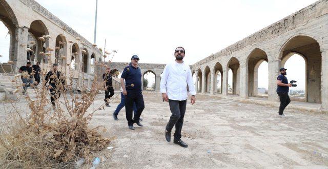 الحلبوسي يوجه بإعادة تأهيل جامع النبي يونس في الموصل