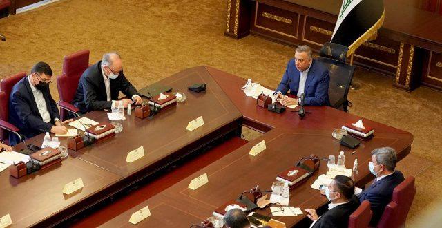 الكاظمي يعقد اجتماعا طارئا مع المحافظين بحضور خلية ازمة معالجة الكهرباء