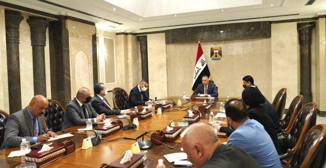 الكاظمي يستقبل رئيس وأعضاء مجلس مفوضية الانتخابات