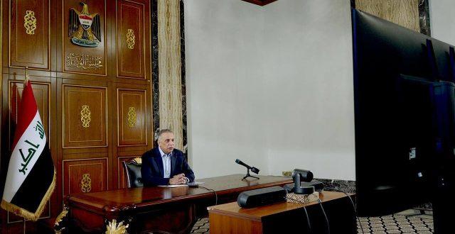 الكاظمي يبحث مع رئيس المجلس الاوروبي العلاقات مع الاتحاد وسبل تطويرها