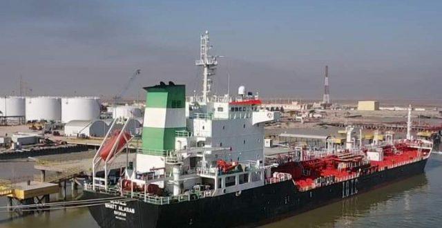 النقل تعلن استقبال الموانئ عددا من السفن المحملة بالمواد المختلفة