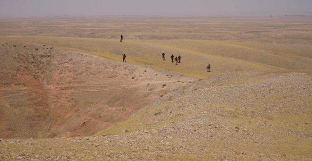 """بالصور..العثور على مضافات لـ""""داعش"""" الارهابي شمال ديالى"""