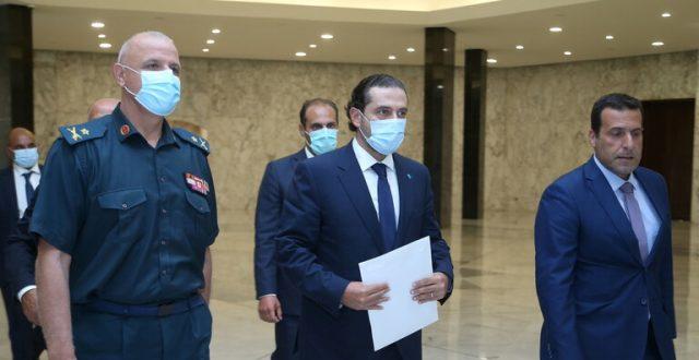 الحريري يقدم تشكيلة حكومية من 24 وزيرا للرئيس اللبناني