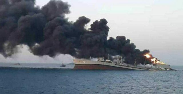 """""""بغداد تايمز"""" تنشر تفاصيل جديدة عن حريق الناقلة النفطية"""