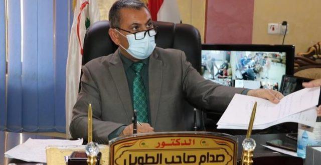 رسميا.. مدير صحة ذي قار يقدم استقالته الى وزير الصحة