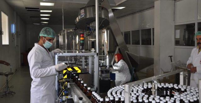 الصناعة تعلن اعادة تأهيل مصنع أدوية نينوى