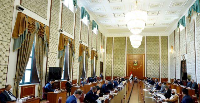 مجلس الوزراء يعقد جلسته برئاسة الكاظمي ويتخذ جملة من القرارات