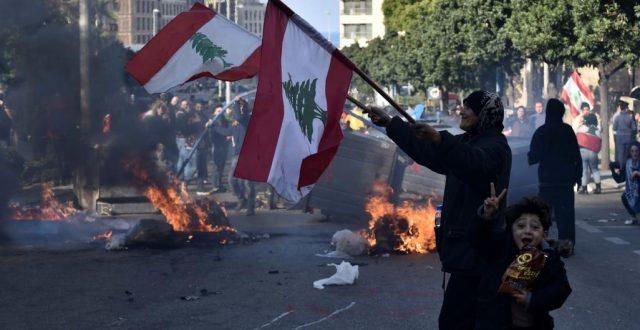 الصليب الأحمر اللبناني: ارتفاع عدد الجرحى جراء المواجهات في بيروت بين المتظاهرين والقوى الأمنية إلى 54 شخصا
