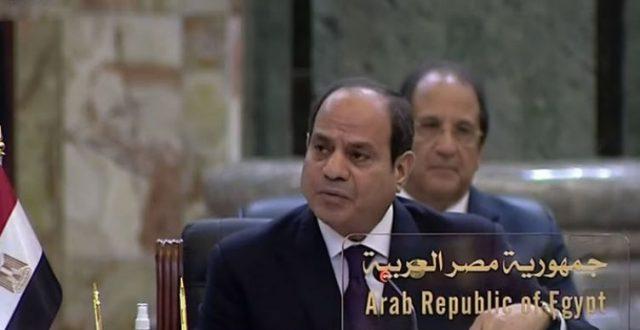 الرئيس المصري : ننظر بتقدير الى الانجازات التي تحققت في العراق خلال الفترة الماضية