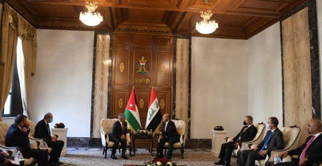 """العراق والاردن يؤكدان اهمية """"قمة بغداد"""" للانطلاق نحو امن واستقرار المنطقة"""