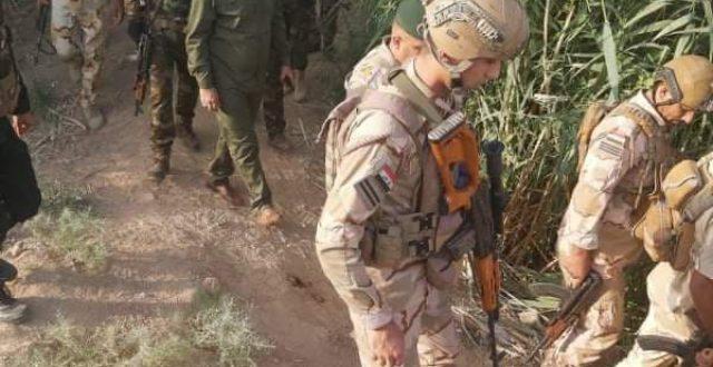 بالصور ..انطلاق حملة لتفتيش مناطق جنوب سامراء